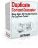 Thumbnail Duplicate Content Detonator