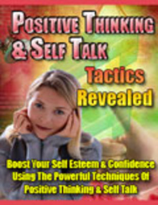 Product picture Positive Thinking & Self Talk Tactics Revealed